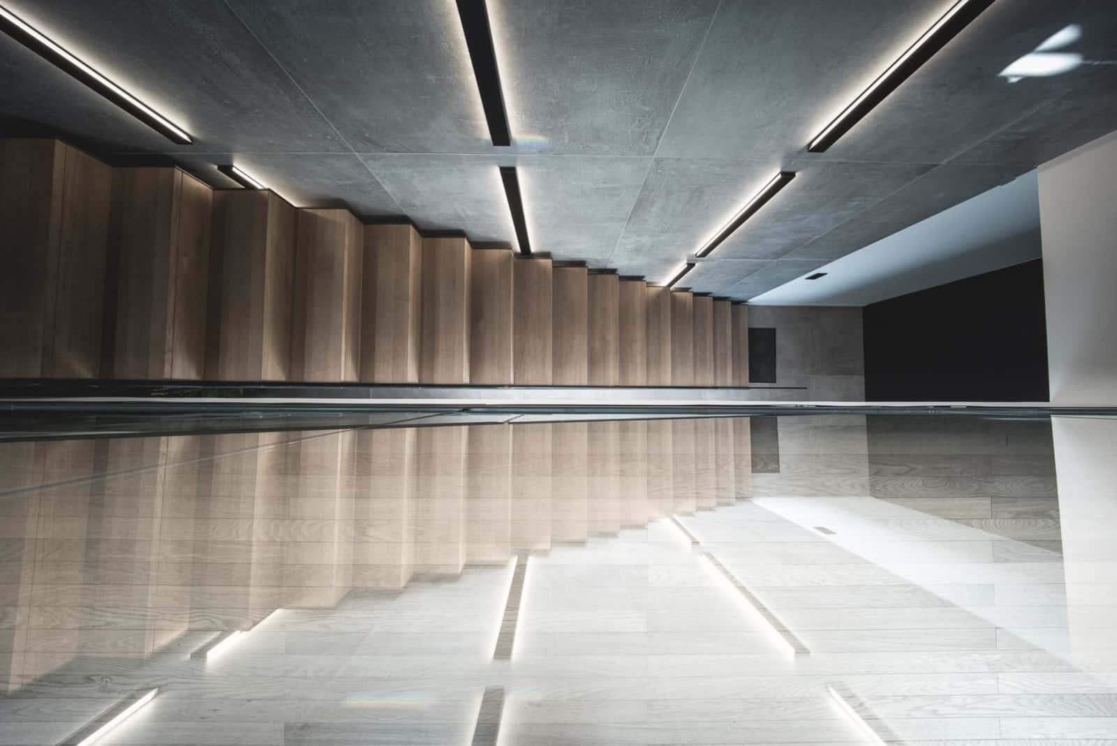 Architecture escalier - Maison d'architecte, villa contemporaine - Archidomo - architecture Annecy Lyon Paris