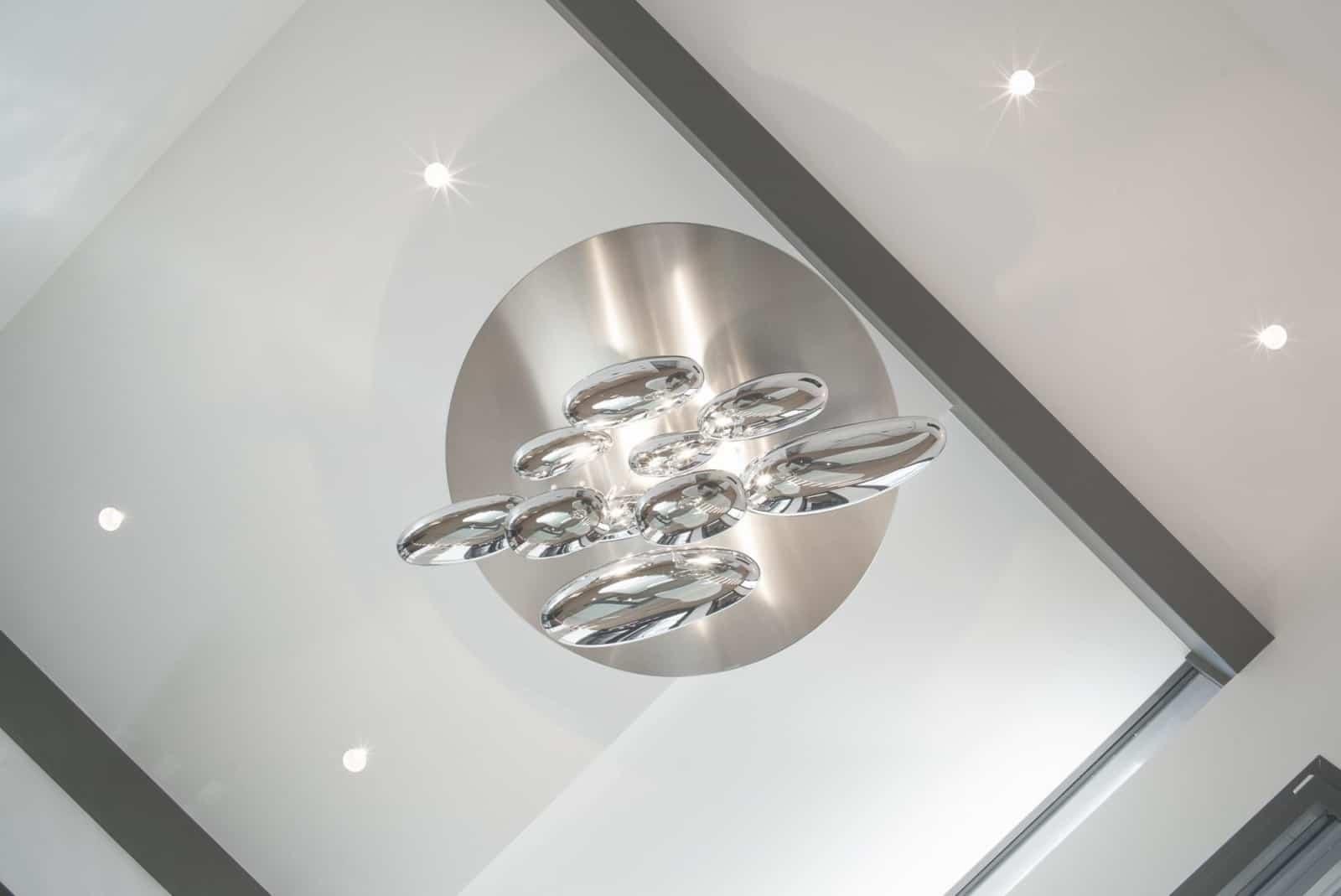 Décoration luminaire design - Maison d'architecte, villa contemporaine - Archidomo - architecture Annecy Lyon Paris