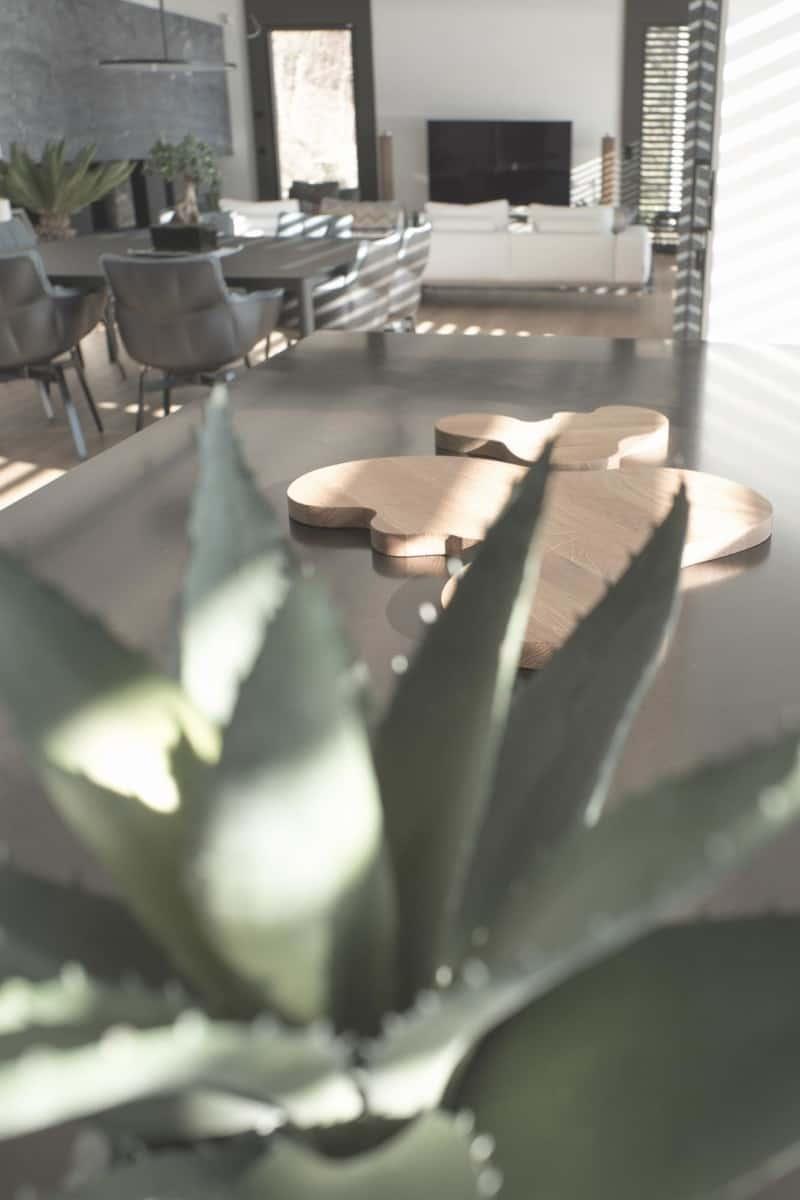 Cuisine Boffi - Maison d'architecte, villa contemporaine - Archidomo - architecture Annecy Lyon Paris