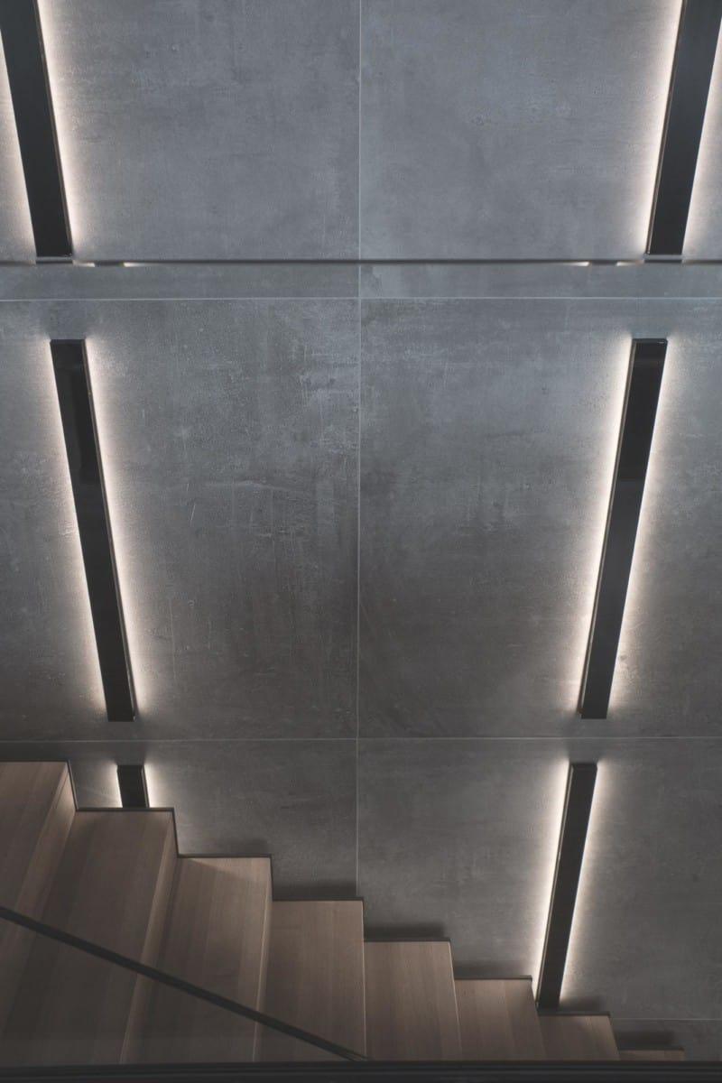 Escalier - Maison d'architecte, villa contemporaine - Archidomo - architecture Annecy Lyon Paris