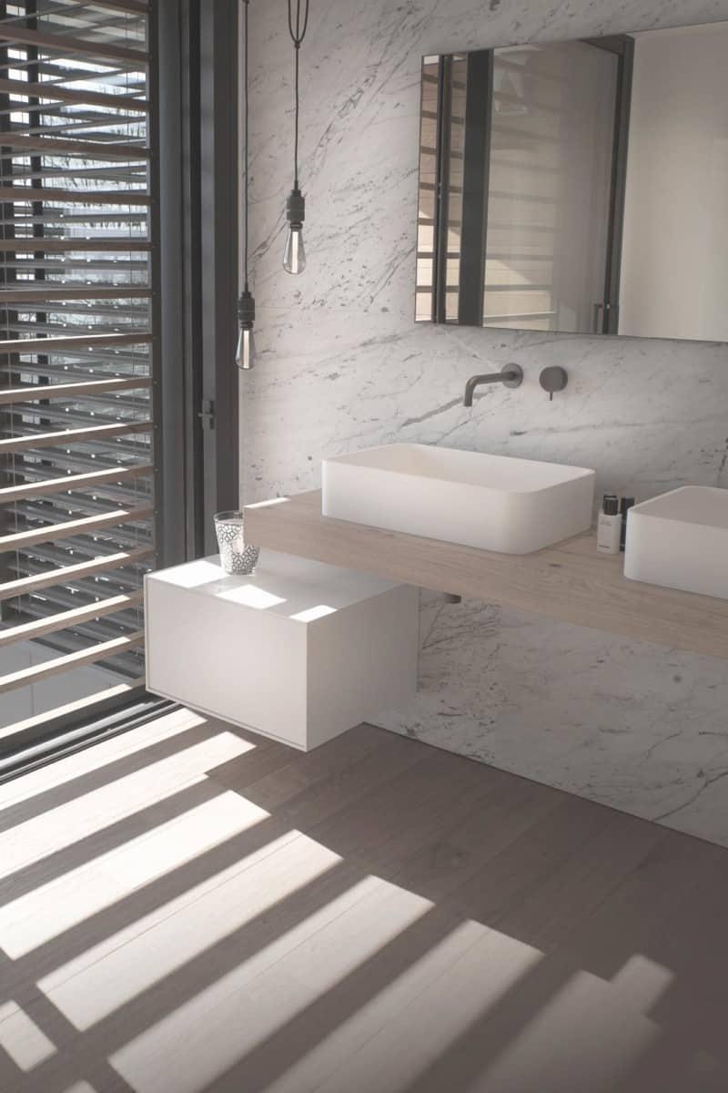Fantini, agape design, Duravit, Hansgrohe, Boffi - Maison d'architecte, villa contemporaine - Archidomo - architecture Annecy Lyon Paris
