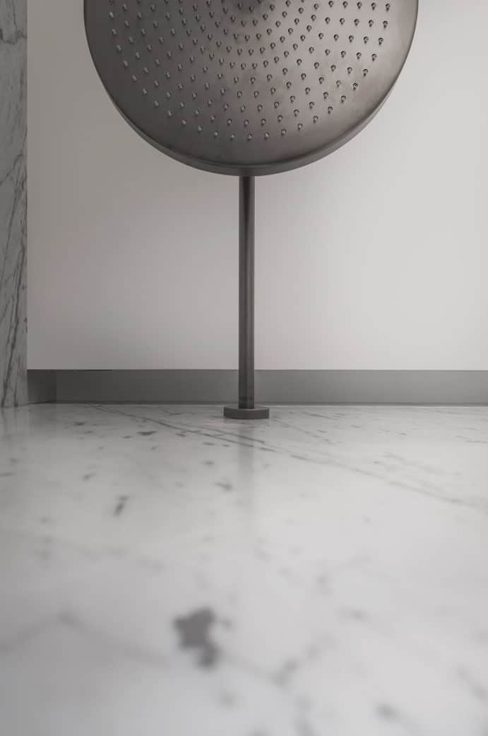 Salle de Bains contemporaine - Maison d'architecte, villa contemporaine - Archidomo - architecture Annecy Lyon Paris