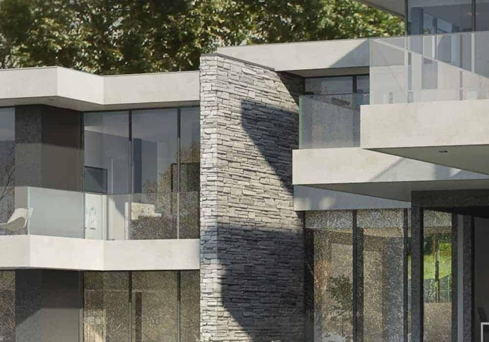 Maison esprit Frank Lloyd Wright - Maison d'architecte, villa contemporaine - Archidomo - Annecy Lyon Paris