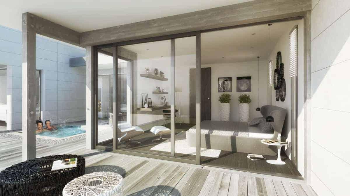 Décoration Villa Annecy - Maison d'architecte, villa contemporaine - Archidomo