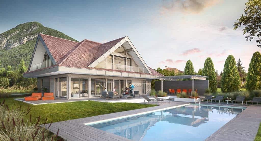 Rénovation sur le Lac d'Annecy - Maison d'architecte, villa contemporaine - Archidomo - Annecy Lyon Paris