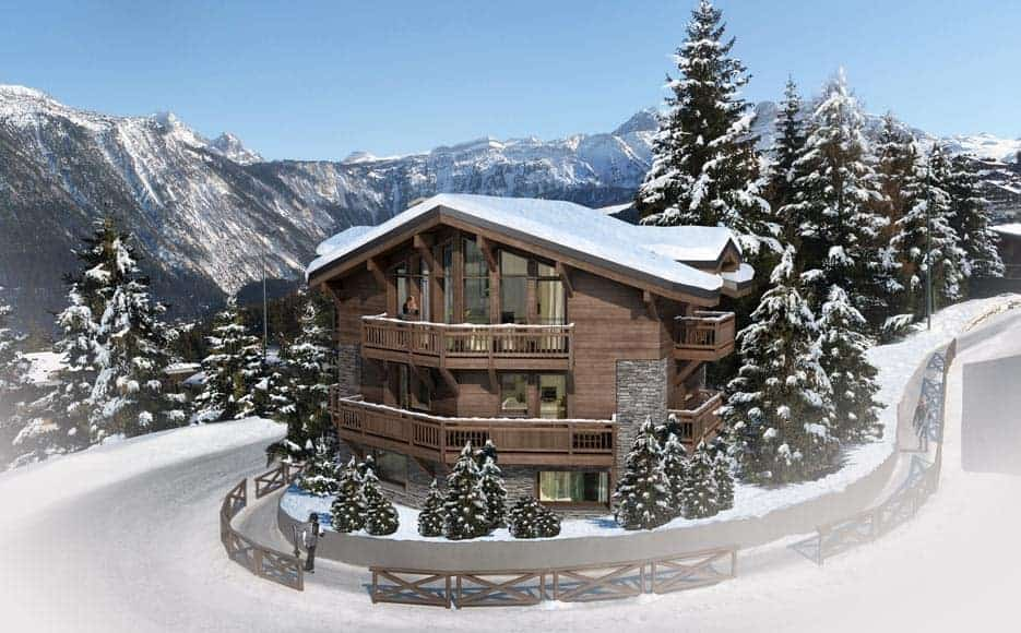 Chalet Contemporain Courchevel - Maison d'architecte, villa contemporaine - Archidomo