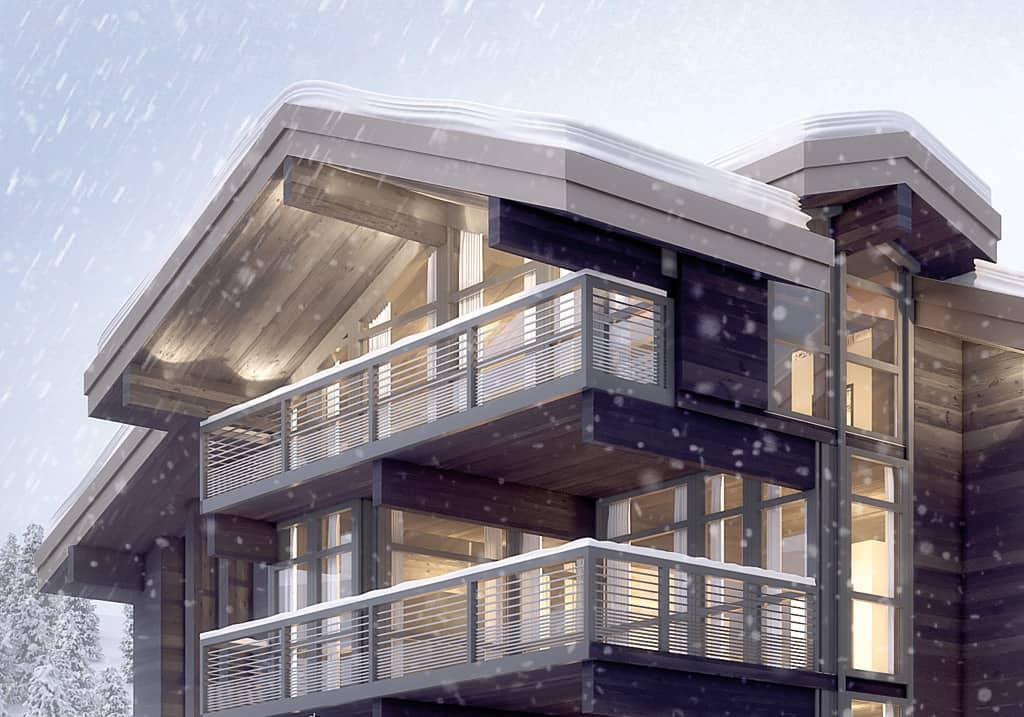 Chalet luxe Haut de gamme Courchevel - Maison d'architecte, villa contemporaine - Archidomo - Annecy Lyon Paris