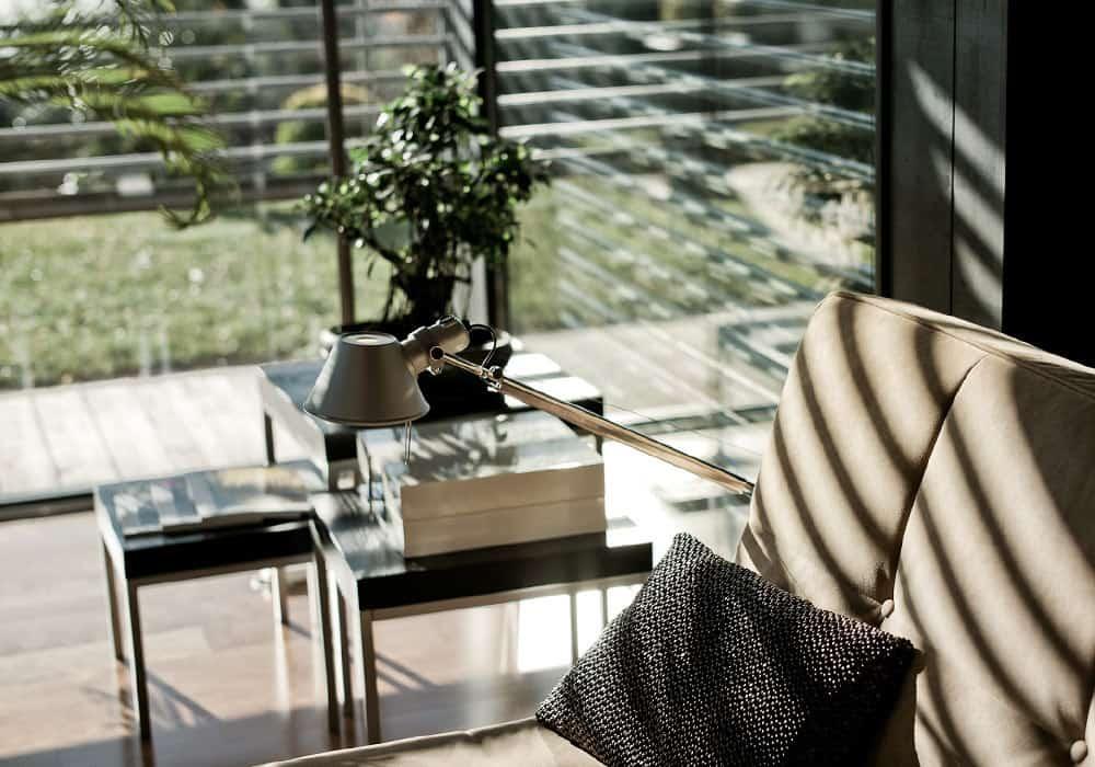 Décoration salon - Maison d'architecte, villa contemporaine - Archidomo