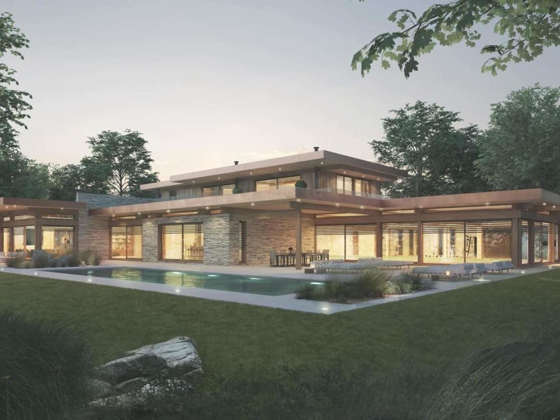 Villa de prestige Maison d'architecte, villa contemporaine - Archidomo