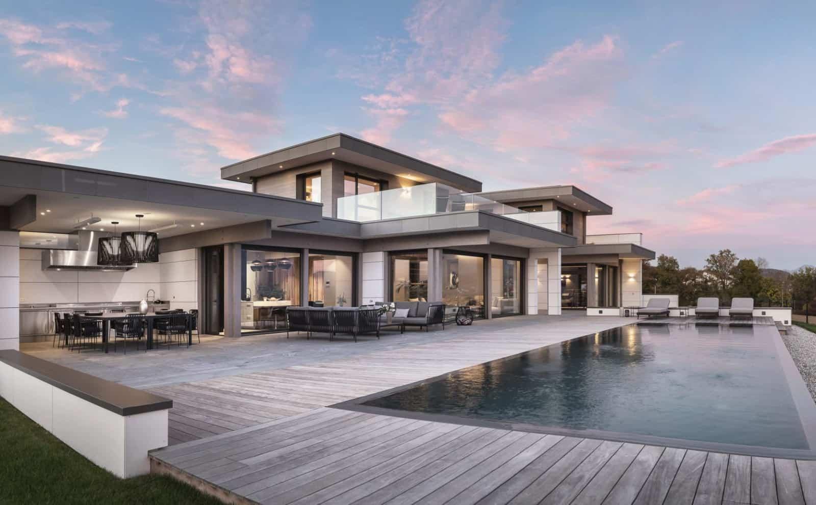Maison d'Architecte Lac d'Annecy - Maison d'architecte, villa contemporaine - Archidomo