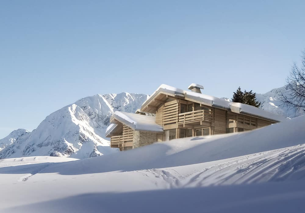 Chalet Rénovation La Clusaz Le Grand Bornand - Maison d'architecte, villa contemporaine - Archidomo