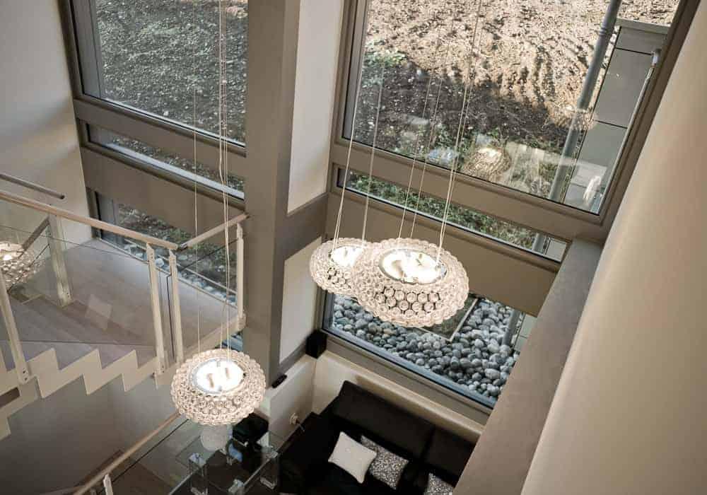 Maison contemporaine poteaux-poutre Annecy Poisy - Maison d'architecte, villa contemporaine - Archidomo - Annecy Lyon Paris