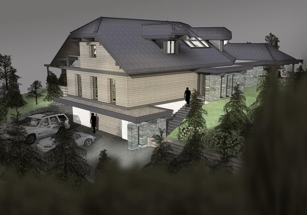 Rénovation - Maison d'architecte, villa contemporaine - Archidomo - Annecy Lyon Paris