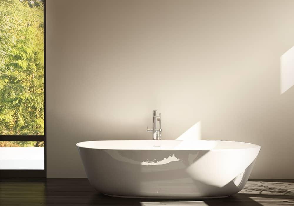 Salle de bains contemporaine - Maison d'architecte, villa contemporaine - Archidomo