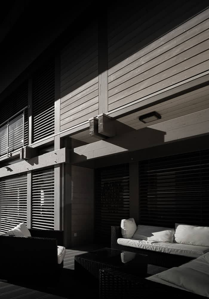 Maison contemporaine poteaux-poutre - Maison d'architecte, villa contemporaine - Archidomo - Annecy Lyon Paris