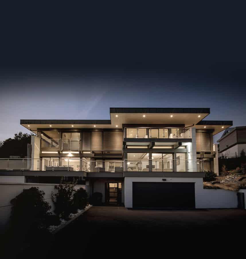 Maiosn moderne Annecy Pringy - Maison d'architecte, villa contemporaine - Archidomo - Annecy Lyon Paris