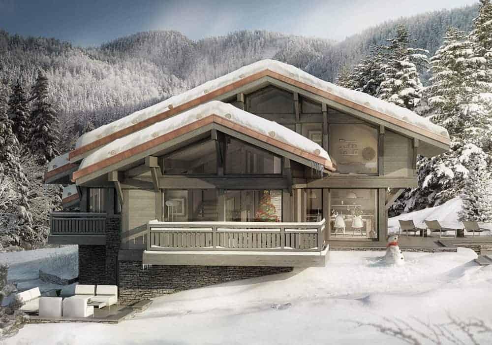 Chalet d'Architecte Grand-Bornand LaClusaz - Maison d'architecte, villa contemporaine - Archidomo