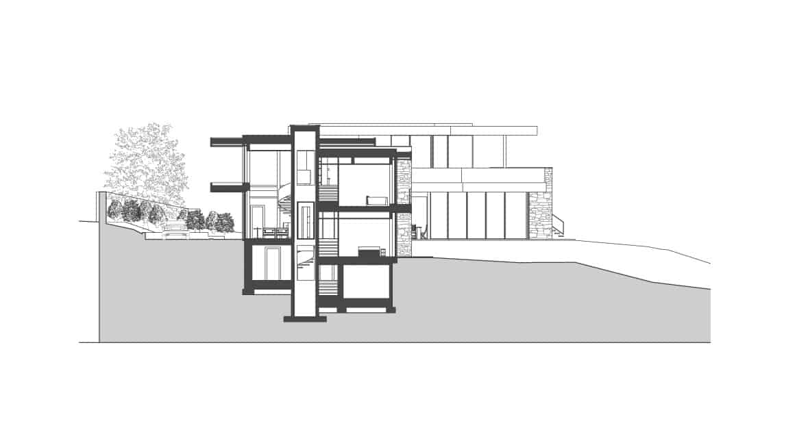 Plan Maison Contemporaine Lyon - Maison d'architecte, villa contemporaine - Archidomo