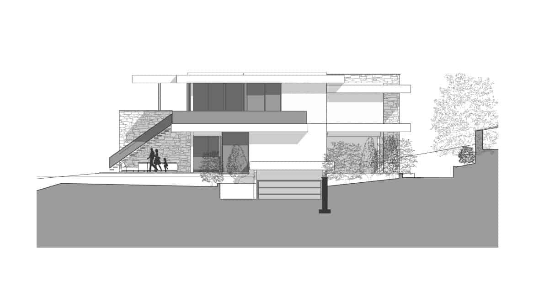 Plan Maison d'Architecte Lac d'Annecy - Maison d'architecte, villa contemporaine - Archidomo