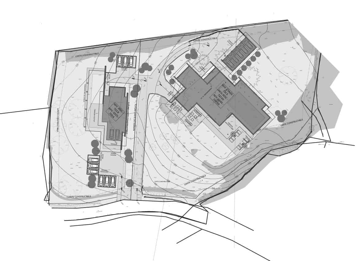 Plan Maison Contemporaine villa - Maison d'architecte, villa contemporaine - Archidomo