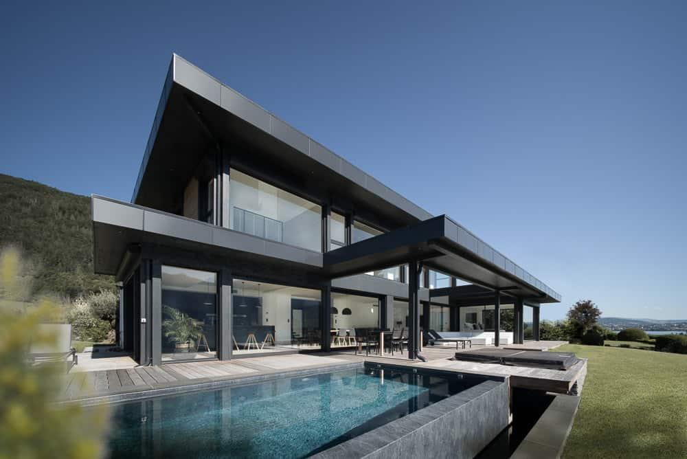 Architecture Lac d'Annecy - Maison d'architecte, villa contemporaine - Archidomo