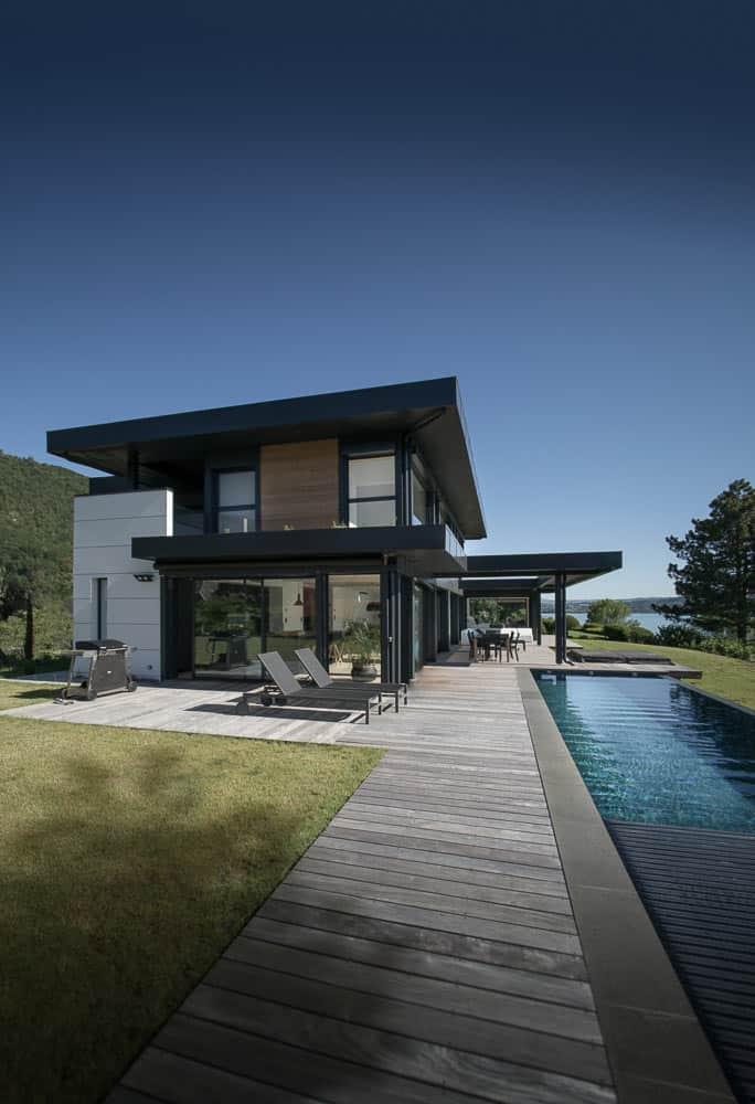 Villa luxe lac d'Annecy - Maison d'architecte, villa contemporaine - Archidomo