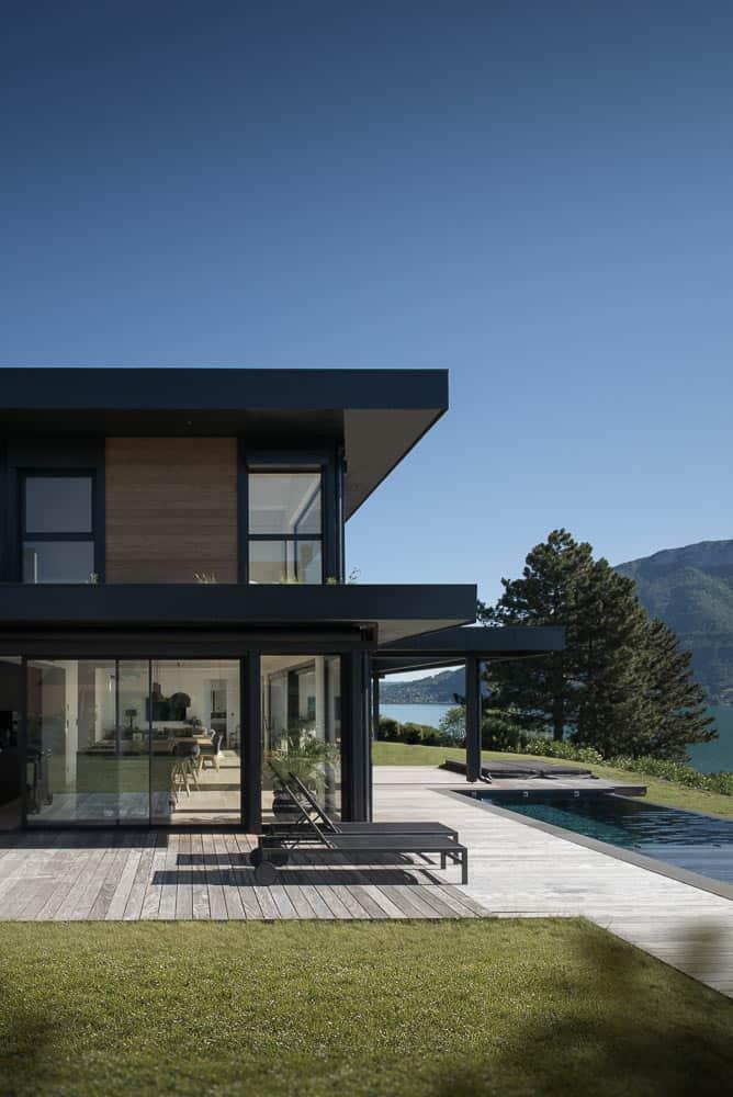 Demeure de Luxe Lac Annecy - Maison d'architecte, villa contemporaine - Archidomo
