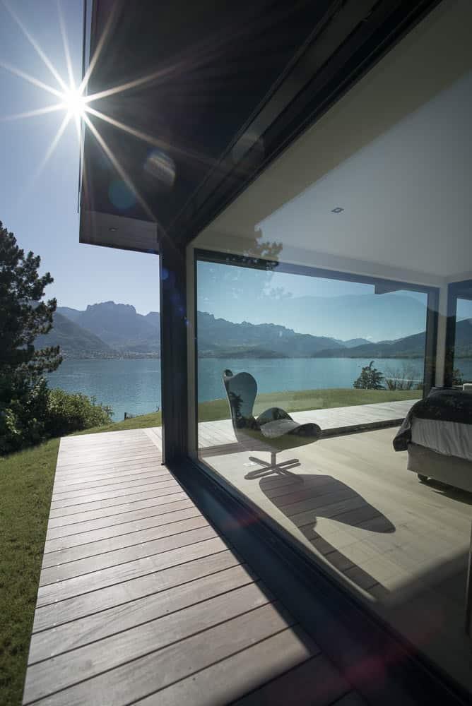 Demeure de Luxe lac d'Annecy - Maison d'architecte, villa contemporaine - Archidomo