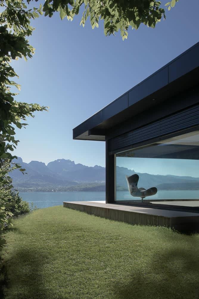 Demeures de luxe Lac d'Annecy - Maison d'architecte, villa contemporaine - Archidomo