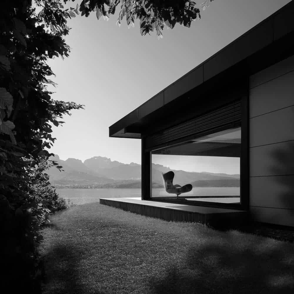 Photo Maison Lac d'Annecy - Maison d'architecte, villa contemporaine - Archidomo