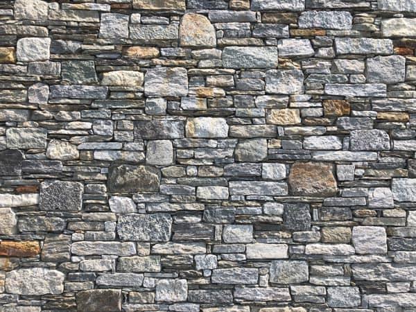 Mur pierres sèches, luxe, savoir-faire. Maison d'architecte, villa contemporaine - Archidomo