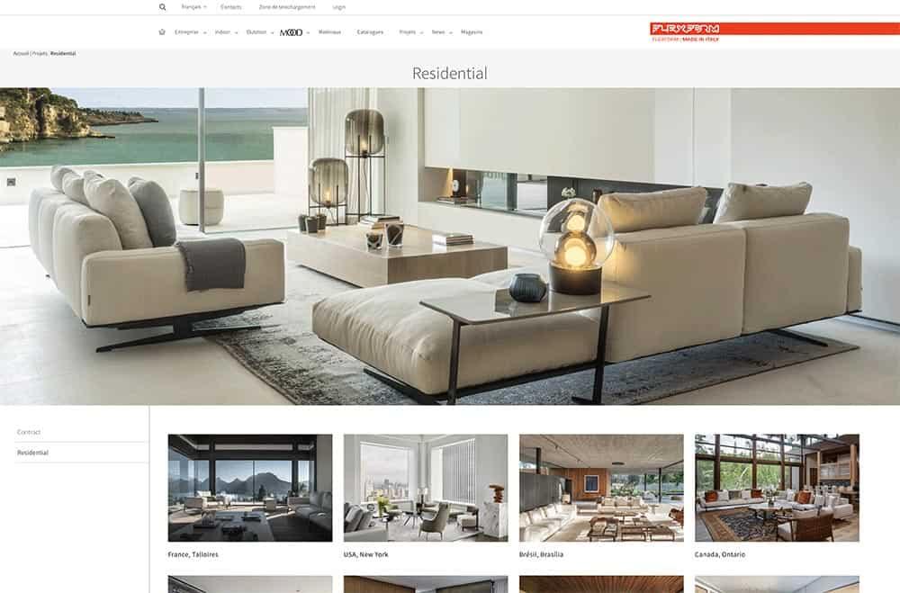 Article 1 Flexform, article Archidomo Lac d'Annecy - Maison d'architecte, villa contemporaine