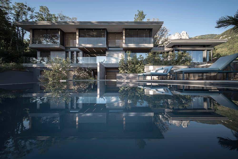 Extérieurs, Archidomo Lac d'Annecy - Maison d'architecte, villa contemporaine