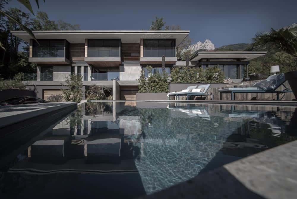Technal, Lac d'Annecy - Maison d'architecte, villa contemporaine - Archidomo