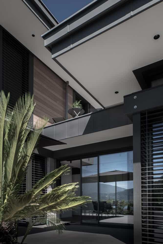 Terrasse suspendue, Lac d'Annecy - Maison d'architecte, villa contemporaine - Archidomo