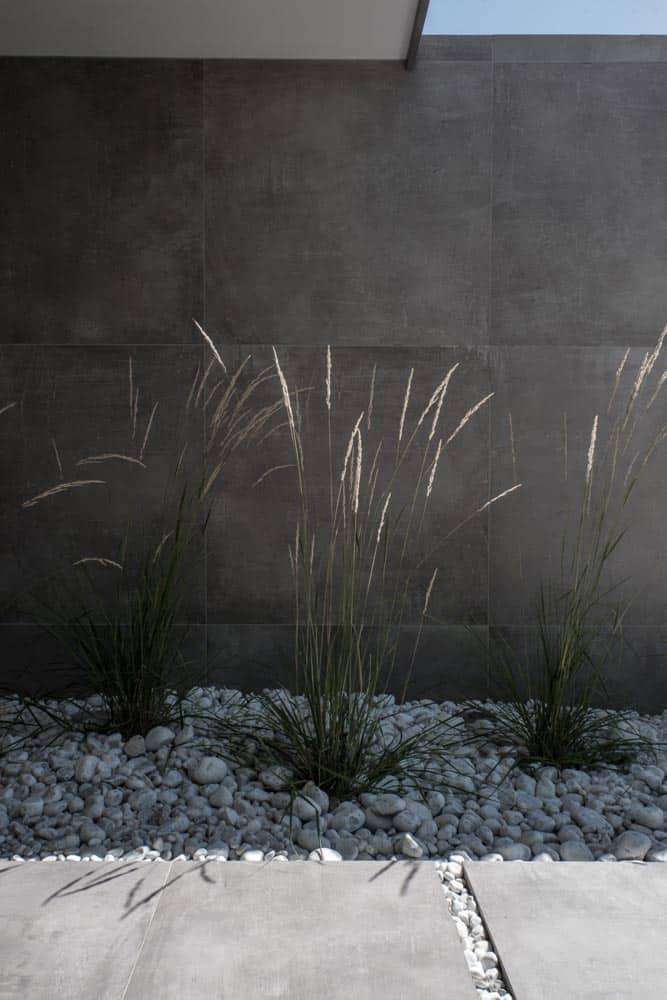 Jardin, graminées, Lac d'Annecy - Maison d'architecte, villa contemporaine - Archidomo