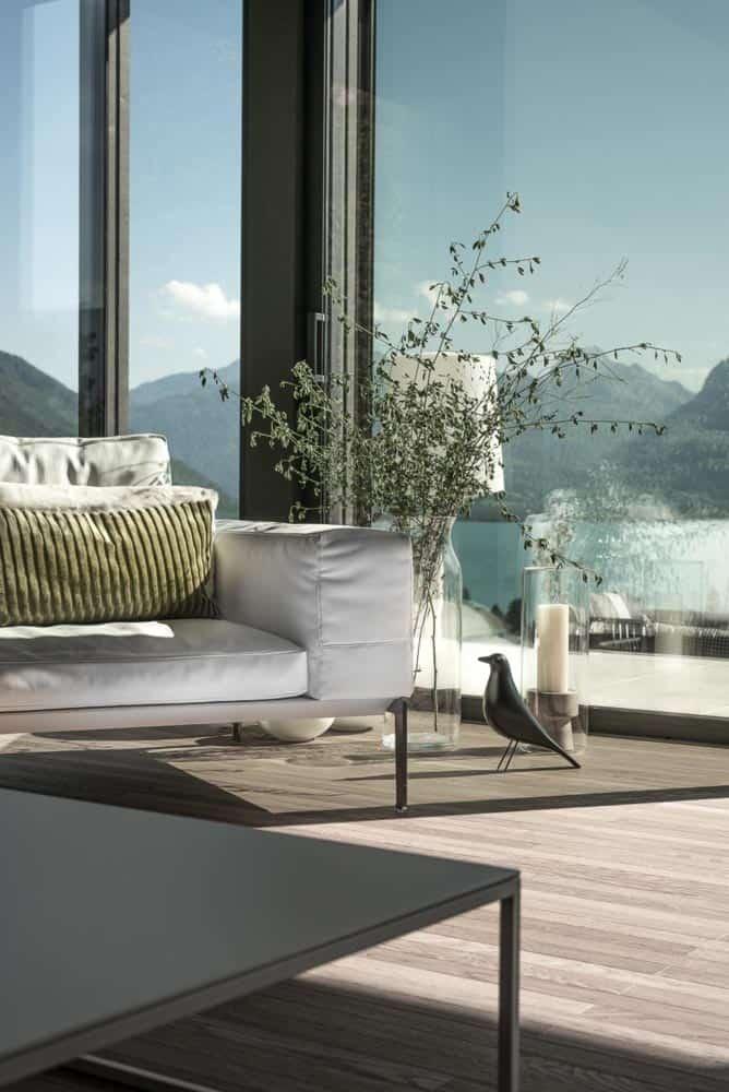 Décoration, Flexform, Lac d'Annecy - Maison d'architecte, villa contemporaine - Archidomo