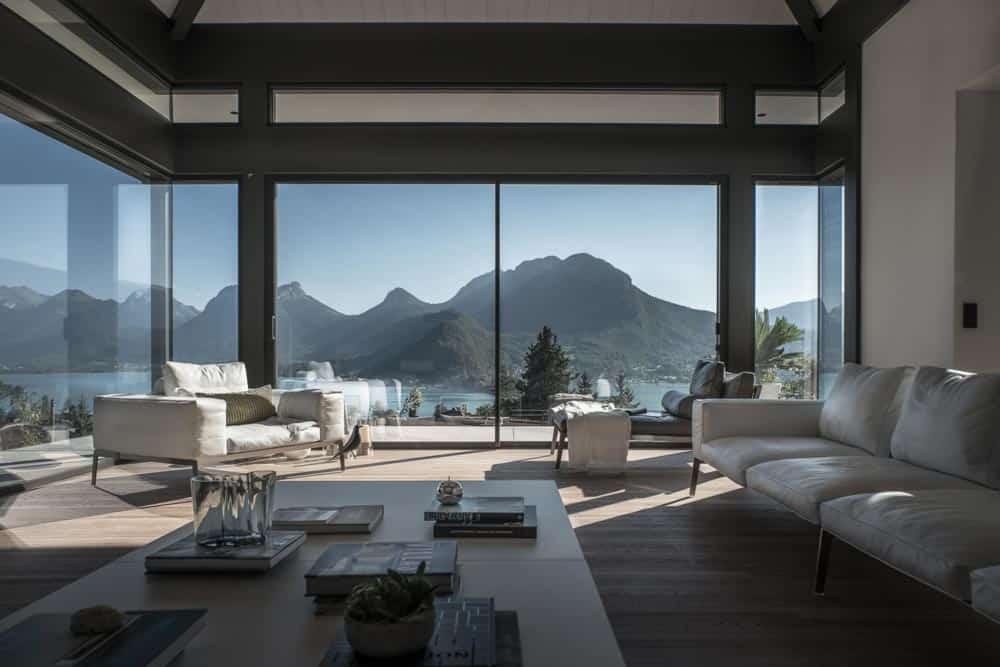 Flexform, Lac d'Annecy - Maison d'architecte, villa contemporaine - Archidomo