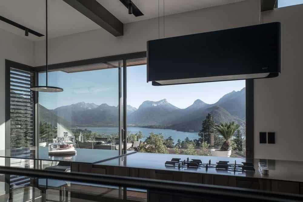 Cuisine boffi, Lac d'Annecy - Maison d'architecte, villa contemporaine - Archidomo