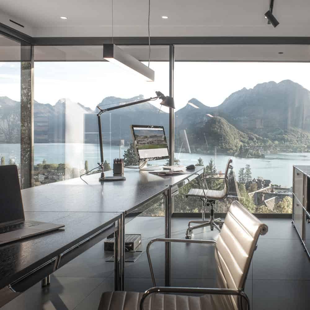 bureau Architecte, Lac d'Annecy - Maison d'architecte, villa contemporaine - Archidomo