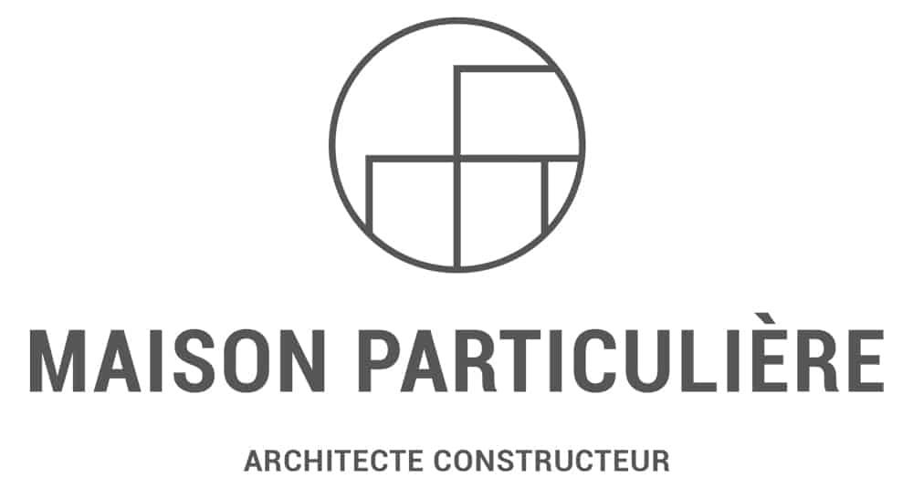 Logo constructeur, Lac d'Annecy - Maison, villa contemporaine - Maison Particulière Archidomo
