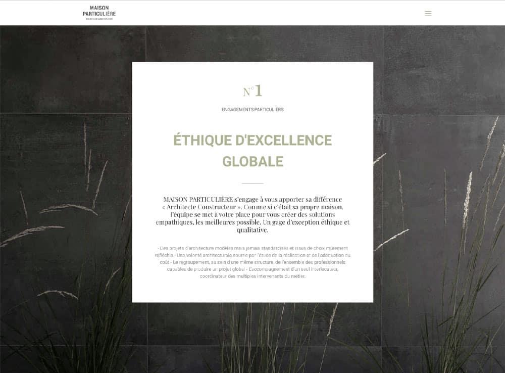 Nouveau site internet 4 constructeur, Lac d'Annecy - Maison, villa contemporaine - Maison Particulière Archidomo