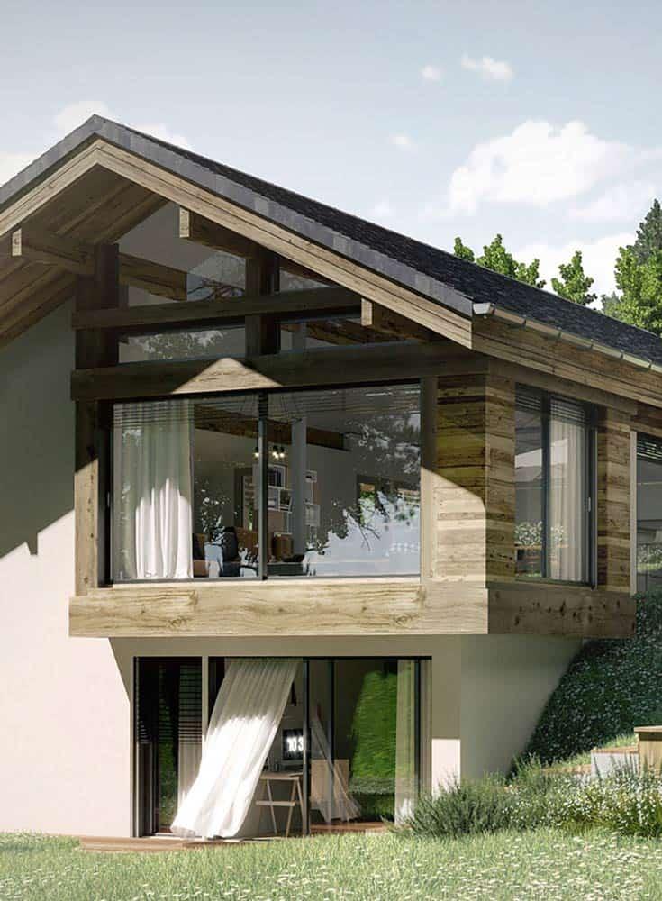 Villa constructeur, Lac d'Annecy - Maison, villa contemporaine - Maison Particulière Archidomo