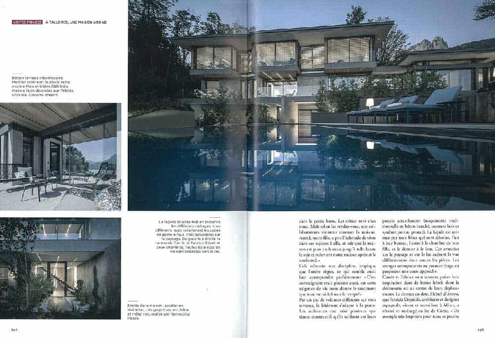Archidomo parution Vue Lac, édition Glénat, architecture Savoie Mont-Blanc p2