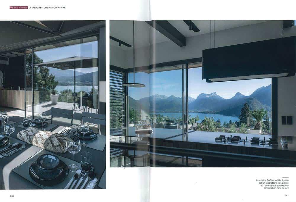 Archidomo parution Vue Lac, édition Glénat, architecture Savoie Mont-Blanc p4
