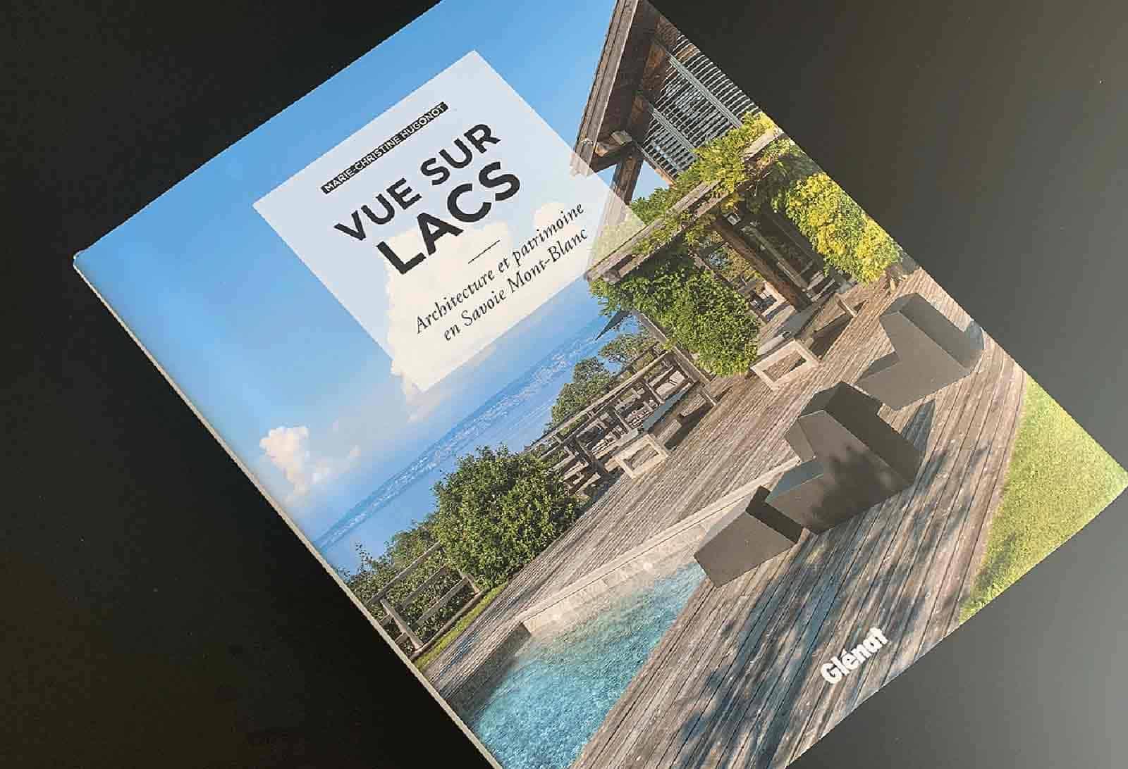 Archidomo parution Vue Lac, édition Glénat, architecture Savoie Mont-Blanc couverture
