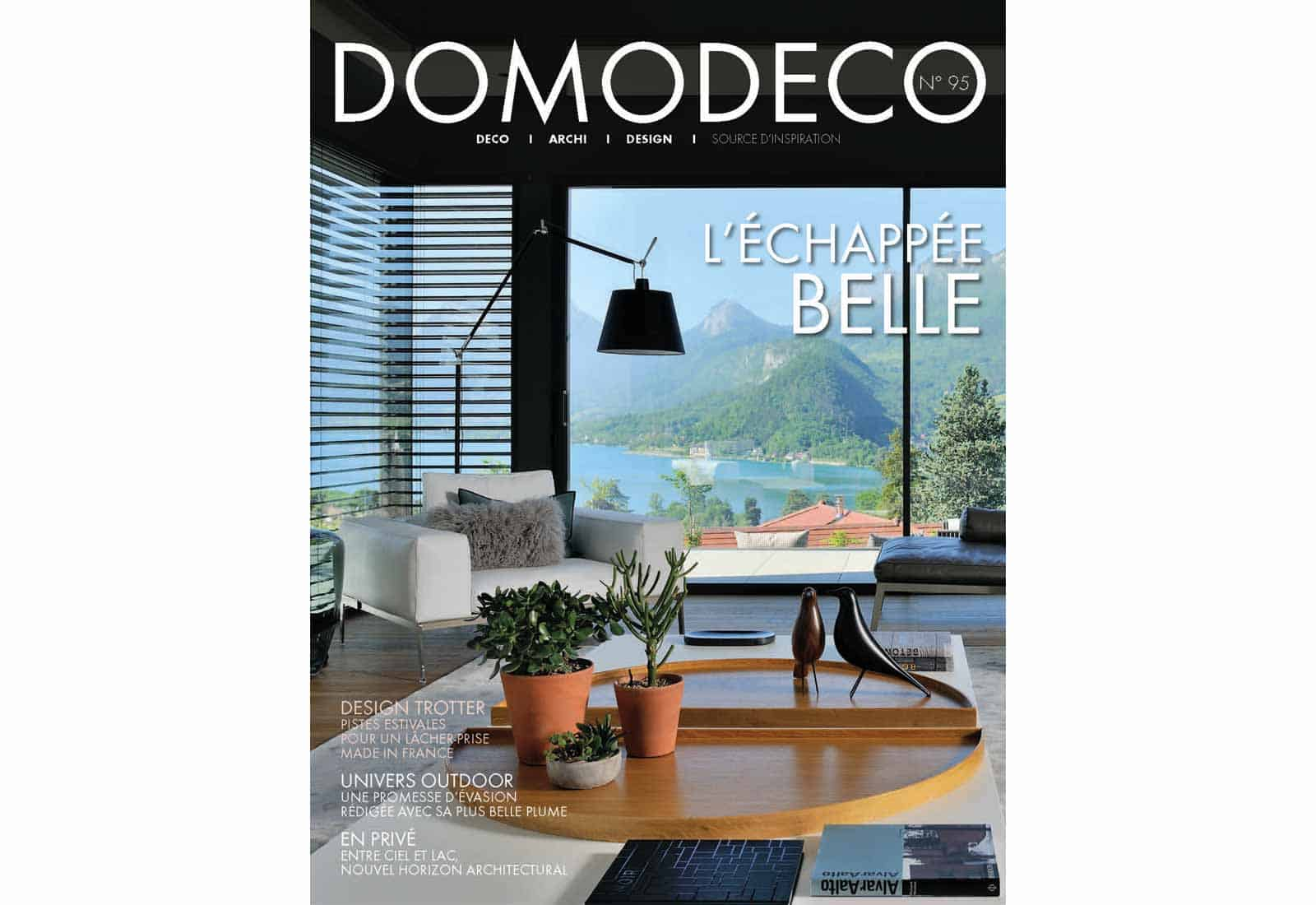 Domodeco article archidomo villa akila, Annecy Talloires - n95 couverture