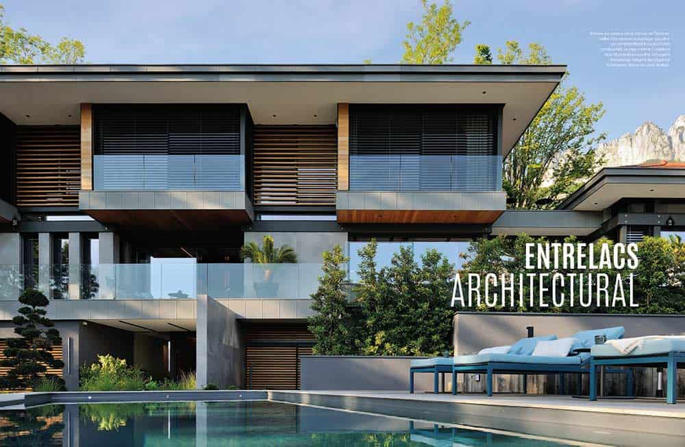 Domodeco article archidomo villa akila, Annecy Talloires - n95 p1