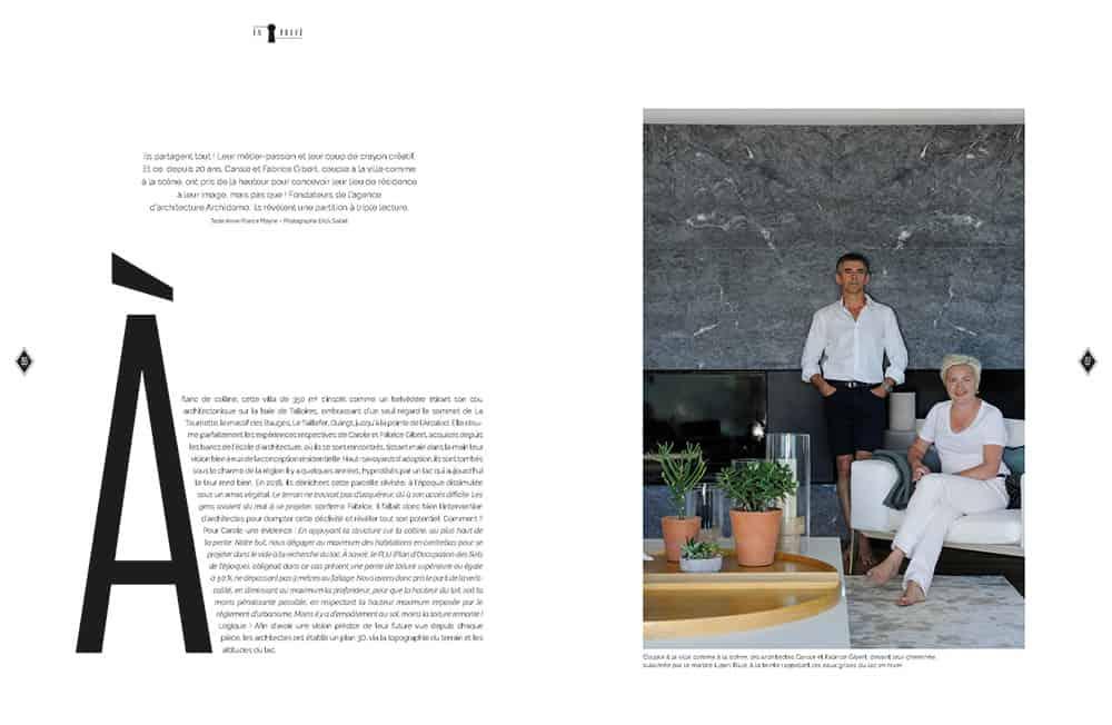Domodeco article archidomo villa akila, Annecy Talloires - n95 p2