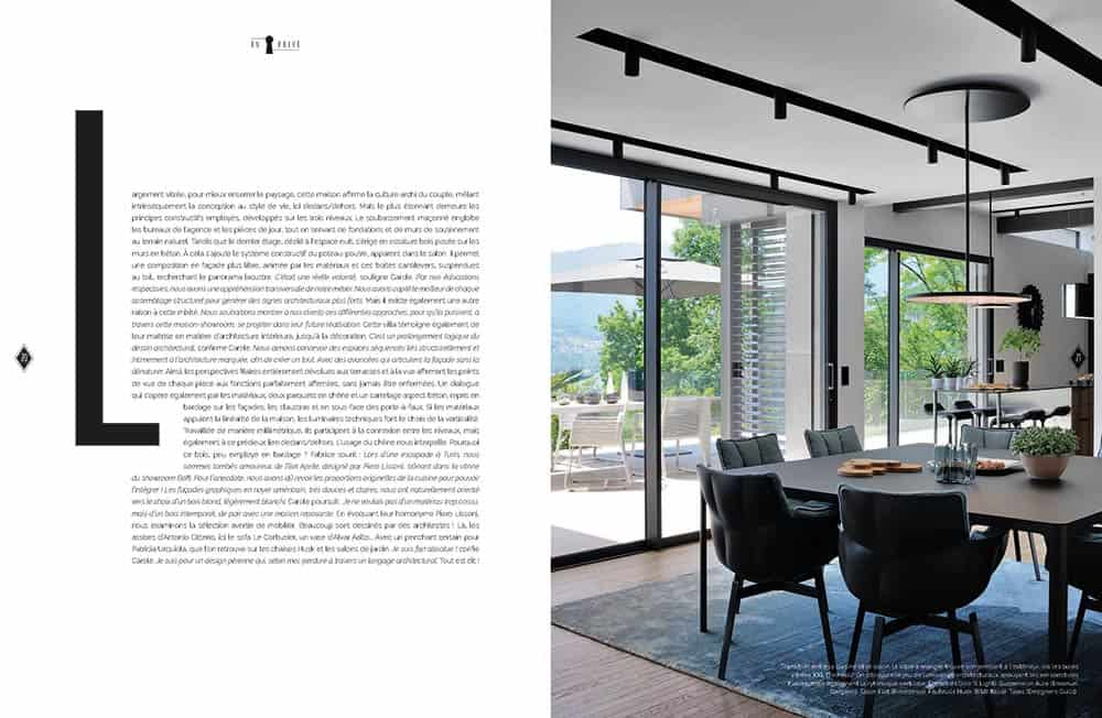Domodeco article archidomo villa akila, Annecy Talloires - n95 p4